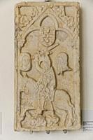 escudo de armas de la ciudad de Evora, siglo XVI, marmol, originalmente situado en casa do Ver o Peso, museo de Evora, Evora, Alentejo, Portugal, euro...