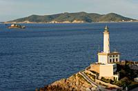 Faro de Botafoch. Eivissa. Ibiza. Balearic Islands. Spain.