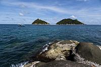 View of the Nang Yuan Island near Koh Tao, Thailand.