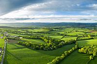 Spreeng in Devon seen over Beacon Hill near Exeter, Devon, England, United Kingdom, Europe.
