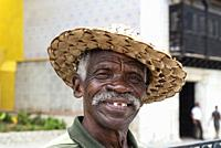 Portrait of a man. Santiago de Cuba, Cuba.