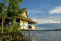 Serah Kei's Lagoon Hideaway, Langalanga Lagoon, Malaita, Solomon Islands.