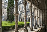 Monastery of Saint Mary of the Victory in Batalha, Portugal.
