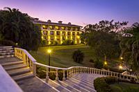 Occidental Papagayo Hotel at dusk, Guanacaste; Costa Rica; Central America.