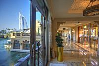 Al Arab hotel in Jumeirah, Dubai, United Arab Emirates.