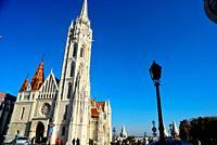 Church of Matias, castle of Budapest, Hungary.