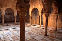 El Bañuelo, 11th century Arab bath. Granada.