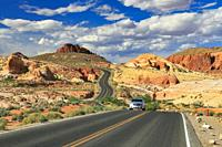 Valley of Fire State Park, Nevada, USA.