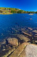 The Bowl in Acadia National Park on Mount Desert Island in Maine, USA.