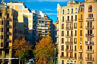 Tourists destination Barcelona, Spain. Barcelona is known as an Artistic city located in the east coast of Spain.