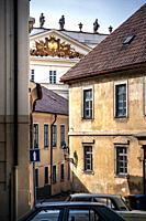 Old street in Prague.