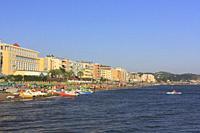 Durres Beach, Albania.
