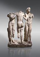 Roman statue of The Three Graces. Marble. Perge. 2nd century AD. Inv no 17. 29. 81. Antalya Archaeology Museum; Turkey. . . The Three Graces iRoamn st...