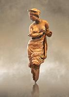Heyl Statue of Aphrodite, Greek goddess of love. 2nd century terracotta from the Heyl collection. This statuette is one of the most beautiful examples...