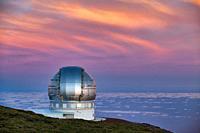 The Gran Telescopio CANARIAS (GTC), Roque de los Muchachos Observatory, Caldera de Taburiente National Park, La Palma, Canary Islands, Spain.