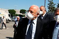 "The governor of the Campania Region Vincenzo De Luca cut the ribbon of """"CASA IMPRESA BENESSERE"""", a public psychiatric rehabilitation residence, crea..."