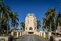 Santa Ifigenia Cemetery, Mausoleum of Jose Martí, an Art Deco Monument, Santiago de Cuba, Cuba.