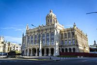 Museum of the Revolution, former Presidential Palace of all Cuban presidents, Havana, Cuba.