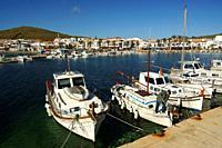 Puerto de Fornells. Bahia de Fornells. Menorca. Illes Balears. España.