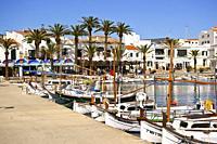 Bahia de Fornells. Menorca. Illes Balears. España.