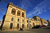 Cas Comte (s. XIX). Plaza des Born. Ciutadella. Menorca. Baleares. España.