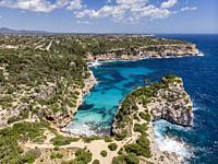 Caló des Moro, Santanyí , Mallorca, Balearic Islands, Spain.