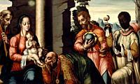 Luis De Morales - Adoration of the Magi.