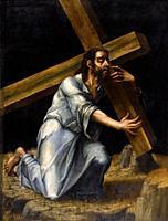 Luis De Morales - Christ Carrying the Cross.