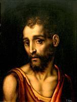 Luis De Morales - Saint John the Baptist.