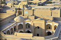Uzbekistan, Khorezm, Khiva, Unesco World Heritage Site, Old city of Itchan Qala, Caravanserai.