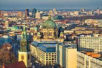 Berliner Dom, Marienkirche church, Alexander platz, Berlin, Germany.