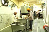 Sikh Temple Gurudwara Bangla Sahib in Delhi, India