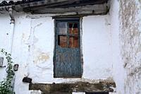 Old house in the town of Piornal, La Vera, Valle del Jerte, Caceres, Extremadura, Spain, Europe.