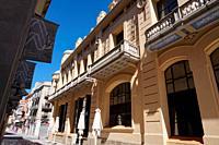 Casino Menestral. City of Figueres, Girona, Catalonia, Spain, Europe.