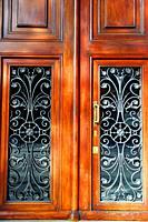 door of the Casa Malagrida, 1908, Catalan modernism, architect Joaquim Codina i Matalí, Barcelona, ??Catalonia, Spain