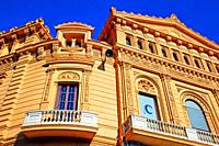 Palau Marcet, 1887, architect Tiberi Sabater i Carner, currently Cinema Comèdia, Barcelona, ??Catalonia, Spain