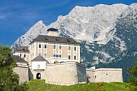 The Trautenfels castle at Stainach Irdning in the Austrian Ennstal.