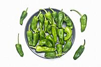 Padrón pepper is a variety of pepper (Capsicum annuum) originating from the agricultural crop of the convent of San Francisco de Herbón (Padrón parish...