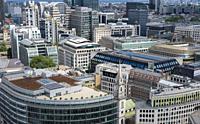 London Rooftops, England, Europe.