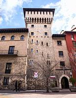 Torre de doña Ochanda (museo de ciencias naturales). Vitoria. Ã. lava. País Vasco. España.