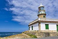 Cape Corrubedo lighthouse in Ribeira, Coruña.