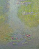 Water Lilies, Nympheas, Claude Monet, 1908,.