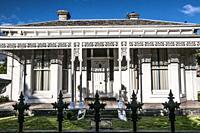 Victorian-era villa in suburban Melbourne, Australia.