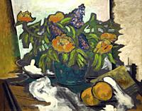 Peonies, Georges Braque, 1926, National Gallery of Art, Washington DC, USA, North America.