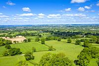 Blackdown Hills, Areas of Outstanding Natural Beauty near Craddock, Devon, England, United Kingdom, Europe.