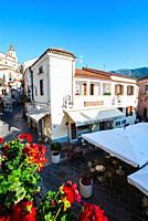 Maratea streetview, Maratea, Basilicata, Italy, Europe.
