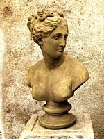 Bust of a Roman woman.