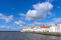 The small city of Alcochete, by the Tagus river and just outside Lisbon.
