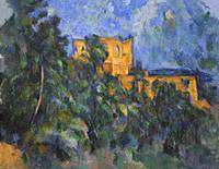 Chateau Noir, Paul Cezanne, 1903-1904,.