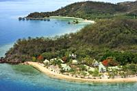 Malolo Island Resort and Likuliku Resort, Mamanucas island group Fiji.